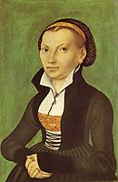 Katharina von Bora, future wife of Martin Luther, 1526, cranach