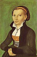 Katharina von Bora, future wife of Martin Luther, 1526, cranach