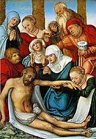 Lamentation, 1538, cranach