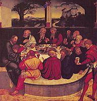 The Last Supper, 1547, cranach