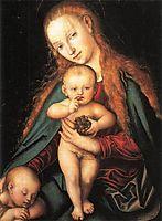 Madonna and Child, 1540, cranach