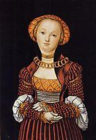 Magdalene von Sachsen, c.1520, cranach