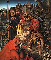 The Martyrdom of St. Barbara, c.1510, cranach