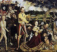 The Martyrdom of St. Catherine, 1506, cranach