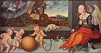 Melancholy, 1532, cranach