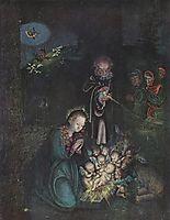 Nativity (Holy Night, Christmas), c.1520, cranach