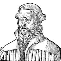 Nicholaus Gallus, a Lutheran theologian and reformer, cranach