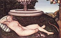 The Nymph of the Fountain, 1534, cranach