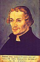 Philipp Melanchthon, 1537, cranach