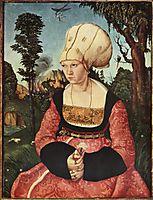 Portrait of Anna Cuspinian, c.1502, cranach
