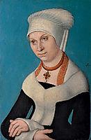 Portrait of Barbara, Duchess of Saxony, c.1500, cranach