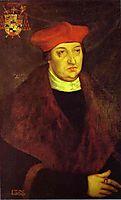 Portrait of Cardinal Albrecht of Brandenburg, 1526, cranach