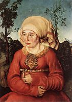 Portrait of Frau Reuss, 1514, cranach