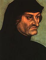 Portrait of Geiler von Kaiserberg, c.1525, cranach