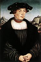 Portrait of Hans Melber, 1526, cranach