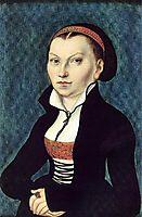 Portrait of Katharina von Bora, c.1530, cranach