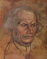 Portrait of Luther-s Father, 1527, cranach