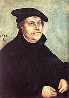 Portrait of Martin Luther, 1543, cranach