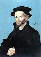 Portrait of Philipp Melanchthon, 1543, cranach