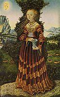 Portrait of a Saxon noblewoman as Mary Magdalene, 1525, cranach