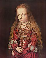 Portrait of a Saxon Princess, 1517, cranach