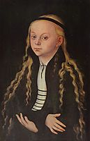 Portrait of a Young Girl (Magdalena Luther), c.1520, cranach