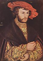 Portrait of a young man in hat, 1521, cranach