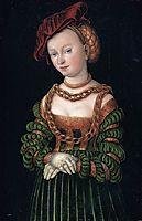 Portrait of a Young Woman, c.1530, cranach