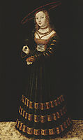 The Princess, 1526, cranach