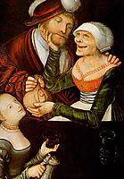 The Procuress, 1548, cranach