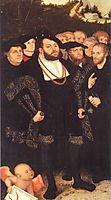 Reformators, c.1535, cranach