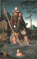 Saint Christopher, c.1516, cranach