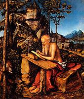 Saint Jerome, cranach