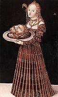 Salome with the Head of St. John the Baptist, cranach