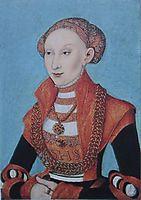 Sibylle von Kleve, c.1531, cranach