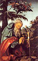 St. Anthony, 1520, cranach