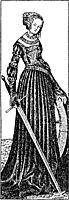 St. Catherine, cranach