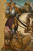 St. George with head of the dragon, c.1515, cranach