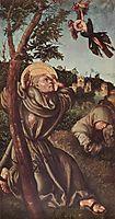 Stigmatiasation of St. Francis, c.1502, cranach