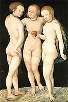 The Three Graces, c.1530, cranach