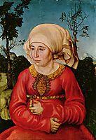 Wife of Dr. Johann Stephan Reuss, 1503, cranach