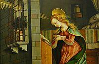 Annunciation, crivelli