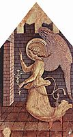 Annunciation angel Gabriel, 1468, crivelli