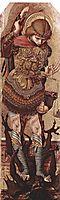 Archangel Michael, 1477, crivelli