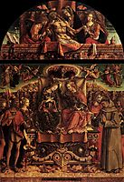 Coronation of the Virgin, 1493, crivelli