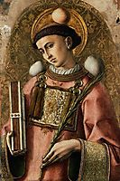 Depiction of Saint Saintephen, crivelli