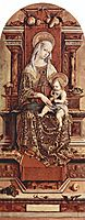 Enthroned Madonna, 1482, crivelli