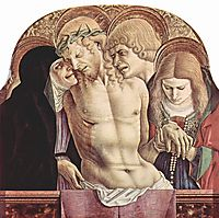 Lamentation of Christ, 1473, crivelli