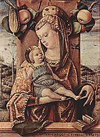 Madonna, 1486, crivelli