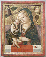 Madonna and Child, c.1490, crivelli